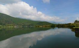 Panorama de Tanukiko do lago Imagens de Stock Royalty Free