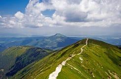Panorama de Tatras occidental Foto de archivo libre de regalías