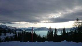 Panorama de Tauplitzalm foto de stock royalty free