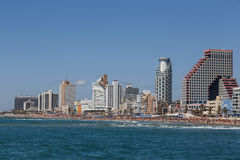 Panorama de Tel Aviv Photos stock