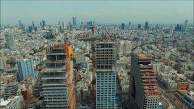 Panorama de Tel Aviv vídeos de arquivo