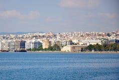 Panorama de Tessalónica Foto de Stock