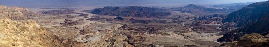 Panorama de Timna Images libres de droits