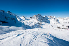 Panorama de Titlis Imagem de Stock Royalty Free
