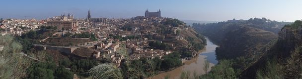 Panorama de Toledo Photographie stock