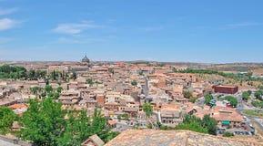 Panorama de Toledo image stock