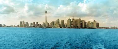 Panorama de Toronto Photographie stock