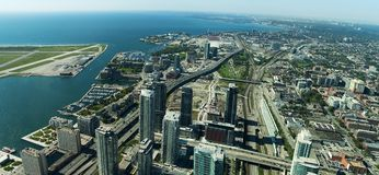 Panorama de Toronto Photographie stock