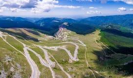 Panorama de Transalpina Fotos de archivo libres de regalías