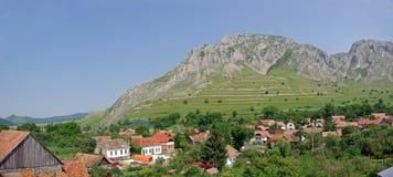 Panorama de Transilvania imágenes de archivo libres de regalías