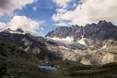 Panorama de Trieves (alpes) Fotografia de Stock Royalty Free