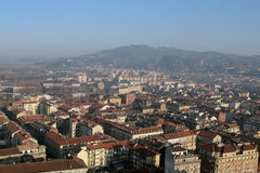 Panorama de Turin Photographie stock