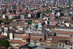 Panorama de Turin, Italie Photographie stock libre de droits