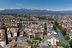Panorama de Turin, Italie Images stock