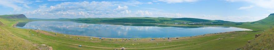 Panorama de Uchum do lago Fotografia de Stock