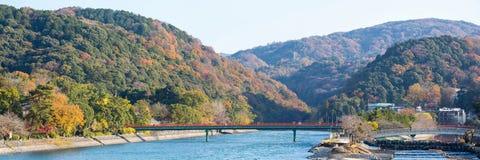 Panorama de Uji Kyoto Japão foto de stock