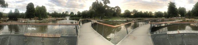 Panorama de un puente fotografía de archivo libre de regalías