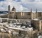 Panorama de Urbino fotos de stock