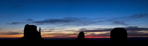 Panorama de vallée de monument images stock