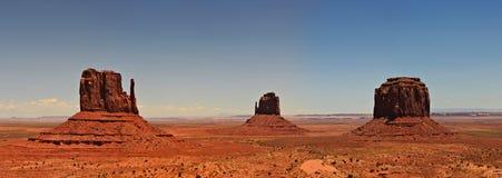 Panorama de vallée de monument Images libres de droits