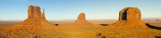Panorama de vallée de monument Photos libres de droits