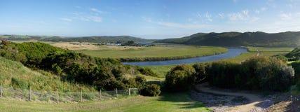 Panorama de vallée de Princetown Photo libre de droits