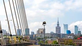 Panorama de Varsovia Imagenes de archivo