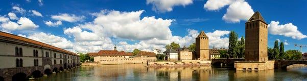 Panorama de Vauban da barragem Imagem de Stock Royalty Free