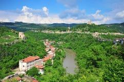Panorama de Veliko Tarnovo Foto de Stock Royalty Free