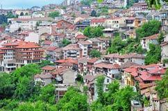 Panorama de Veliko Tarnovo, Bulgária Fotos de Stock