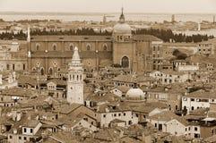Panorama de Venecia Fotografía de archivo libre de regalías
