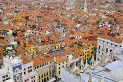 Panorama de Venecia Fotos de archivo