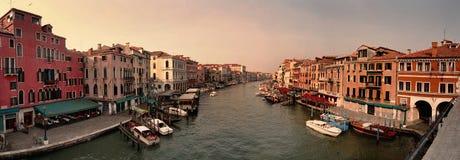 Panorama de Venecia Fotografía de archivo
