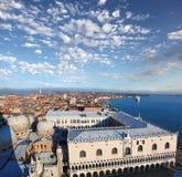 Panorama de Venecia en Italia Fotos de archivo