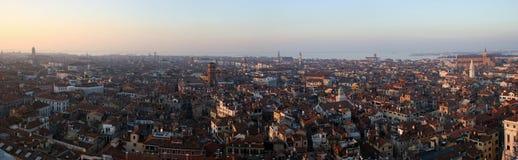 Panorama de Veneza Fotografia de Stock