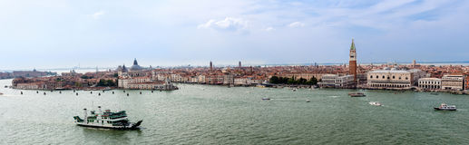 Panorama de Veneza Fotos de Stock Royalty Free