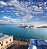 Panorama de Veneza em Italy Foto de Stock Royalty Free