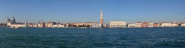 Panorama de Venise Photos stock