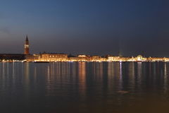 Panorama de Venise Image stock