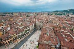 Panorama de Verona, Italy Foto de Stock Royalty Free