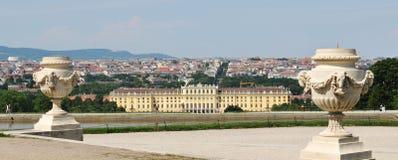 Panorama de Viena Foto de archivo