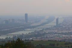 Panorama de Viena, Austria Fotografia de Stock