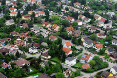 Panorama de Vienne images libres de droits
