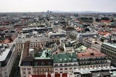 Panorama de Vienne photos stock