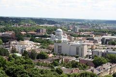 Panorama de ville Photo libre de droits