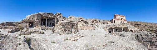 Panorama de ville antique d'Upliscyche en Géorgie Photographie stock libre de droits