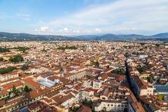 Panorama de ville de Florence Image libre de droits