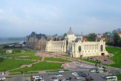 Panorama de ville de Kazan Image stock