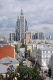 Panorama de ville de Moscou images stock