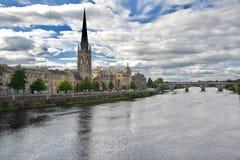 Panorama de ville de Perth Photographie stock